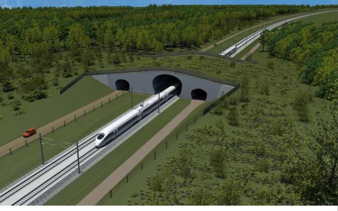 Rail Balticu ideekavand.