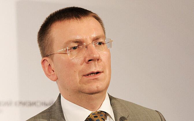 Läti välisminister Edgars Rinkēvičs