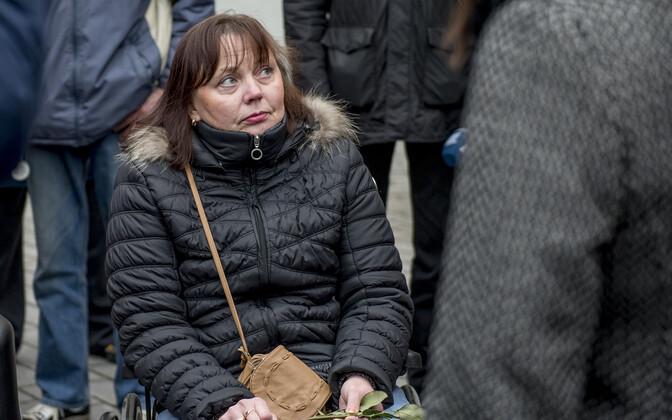 Tiia Sihver on Eesti Liikumispuuetega Inimeste Liidu juhatuse liige.