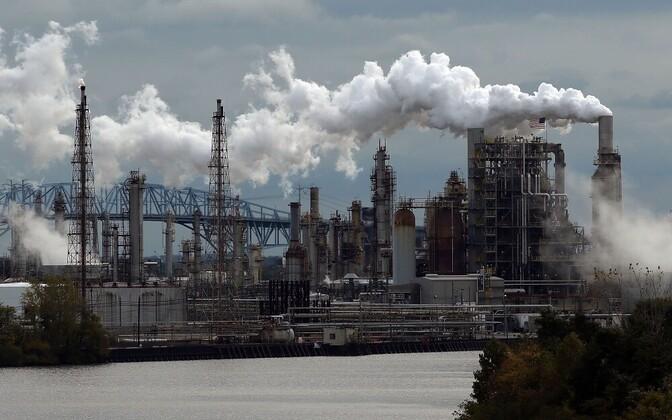 Naftatöötlemistehas USA-s.