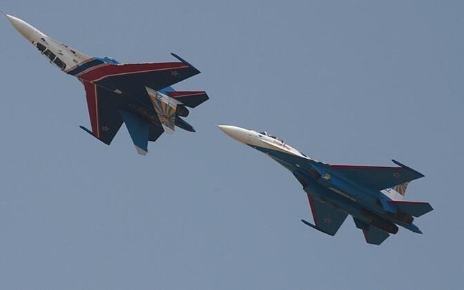 Vene hävitajad Su-27