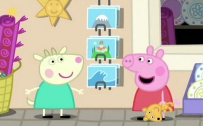 Gabriella Goat ja Peppa Pig