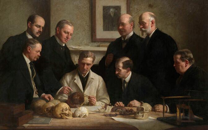 Teadlased Piltdowni mehe kolpa uurimas.