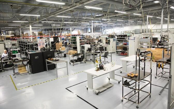 Enics electronics plant in Elva.