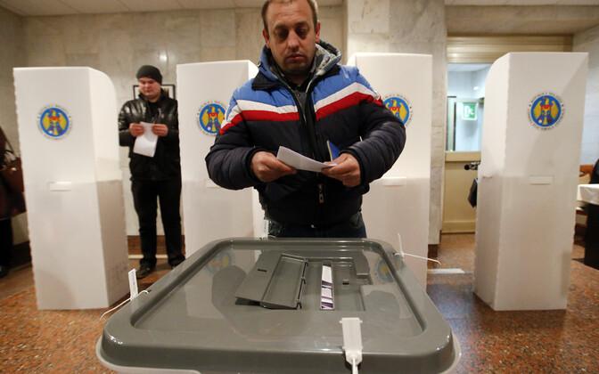 Moldova valimised.