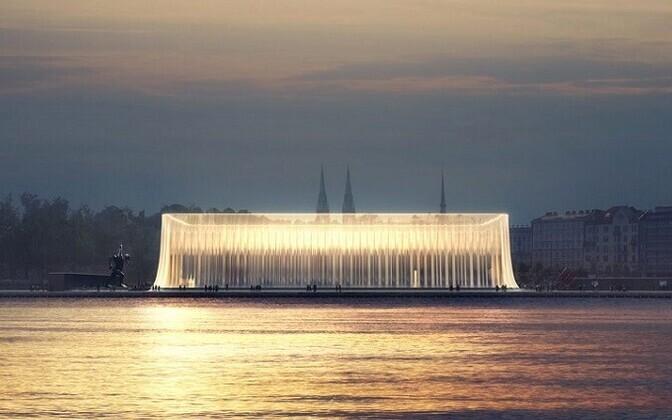 Soome Guggenheimi muuseumi arhitektuurikonkursi finaali jõudnud töö