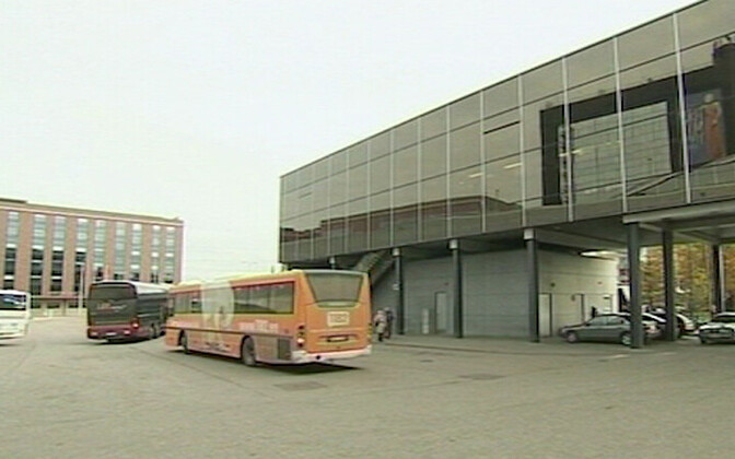 Тартуский автовокзал.