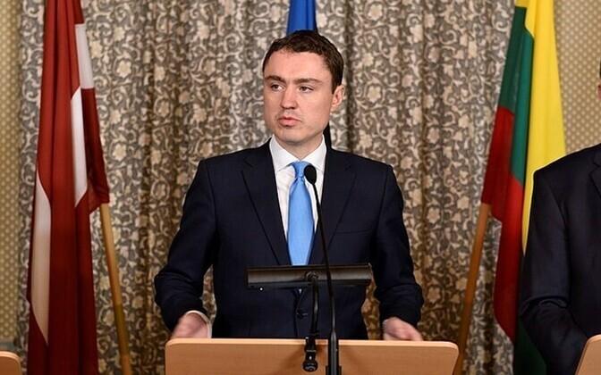 Estonian Prime Minister Taavi Rõivas.