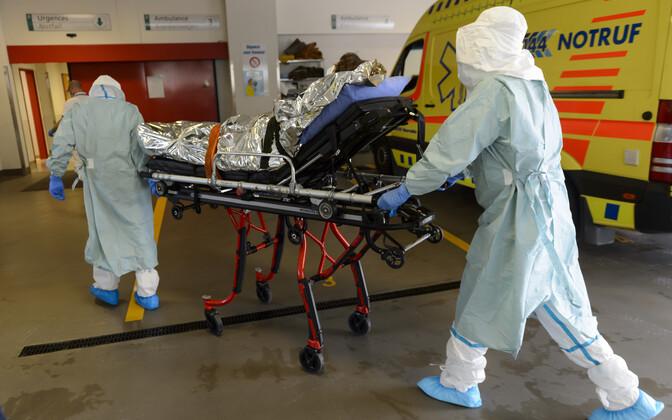 Ebola-patsiendi transportimine