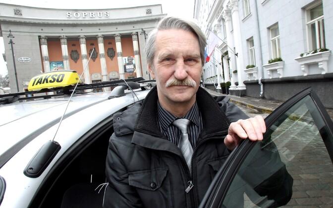 Eesti Taksojuhtide Liidu juhatuse esimees Lembit Poolak