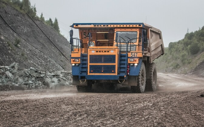 An oil shale quarry in Estonia. Photo is illustrative.