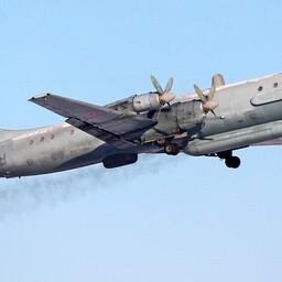 The Russian IL-20  reconnaissance plane.