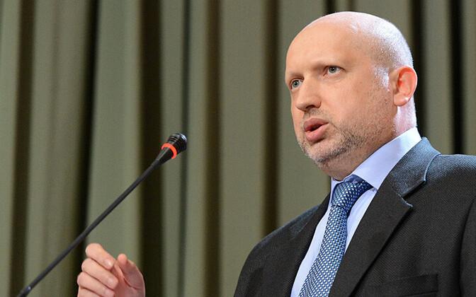 Ukraina riikliku julgeoleku- ja kaitsenõukogu sekretär Oleksandr Turtšõnov