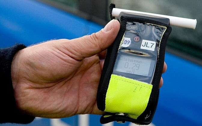Police breathalyzer. Photo is illustrative.