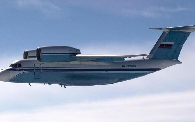 Pildil olev An-72 rikkus eelmisel suvel Soome õhupiiri