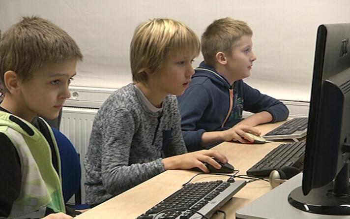 Arvutitund Pelgulinna gümnaasiumis.