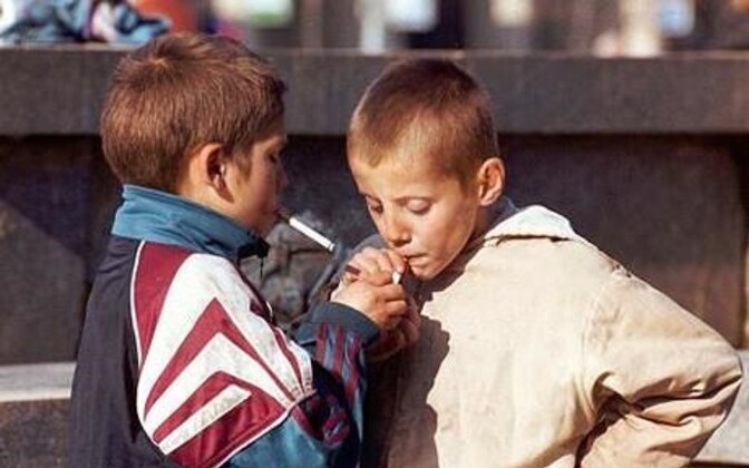 Tubakatooteid on proovinud enam kui kolmandik kuuenda klassi lapsi.