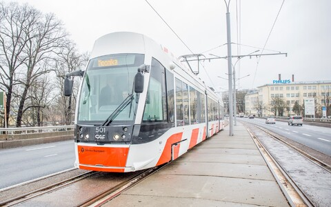 Within three or four years, every tram in Tallinn may be either new or renovated.