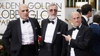 Zaza Urushadze, Lembit Ulfsak and Ivo Felt at the Golden Globes red carpet