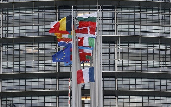 Euroopa Parlamendi hoone Strasbourgis.