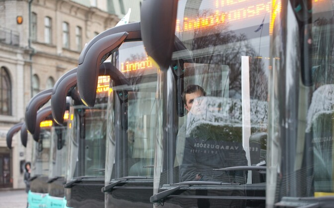 Buses of Tallinna Linnatransport (TLT).