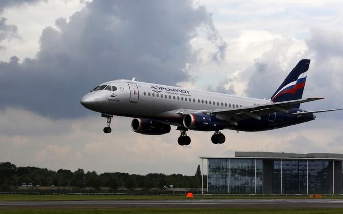 Õhtuseid Aerofloti lende hakkab teenindama Sukhoi Superjet.
