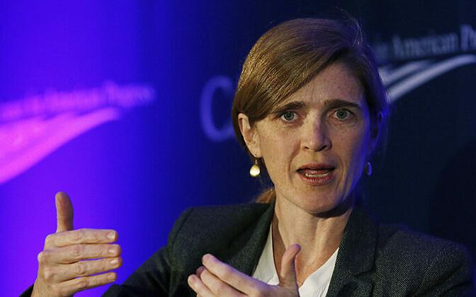 USA suursaadik ÜRO juures Samantha Power