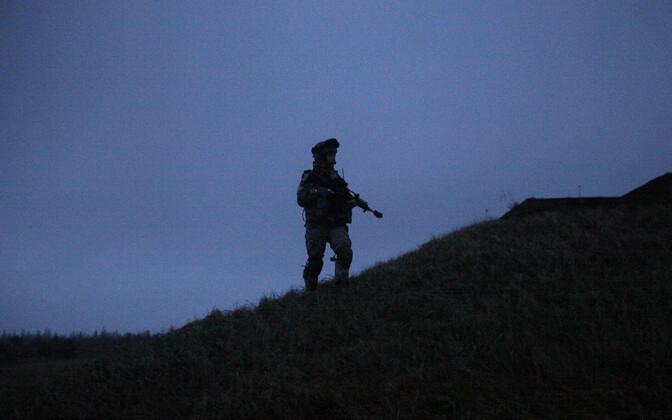 Läti sõdur.