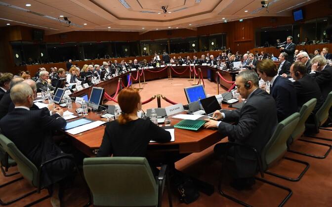 Euroopa Liidu välisministrid Brüsselis
