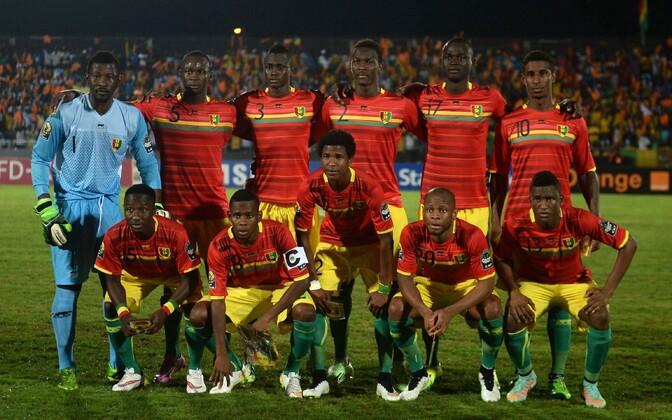 Guinea jalgpallikoondis