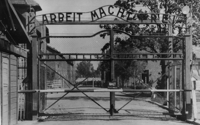 Auschwitzi koonduslaager.