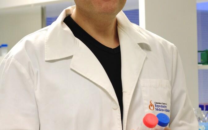 Tartu ülikooli reproduktiivmeditsiini professor tervisetehnoloogiate arenduskeskuse juhataja Andres Salumets.