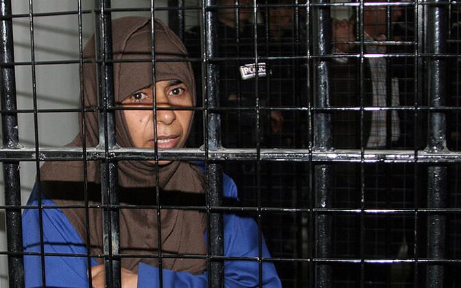 Iraaklanna Sajida al-Rishawi (35) 24. aprillil 2006 Ammani vanglas