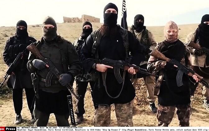 ISIS-e islamiäärmuslased.