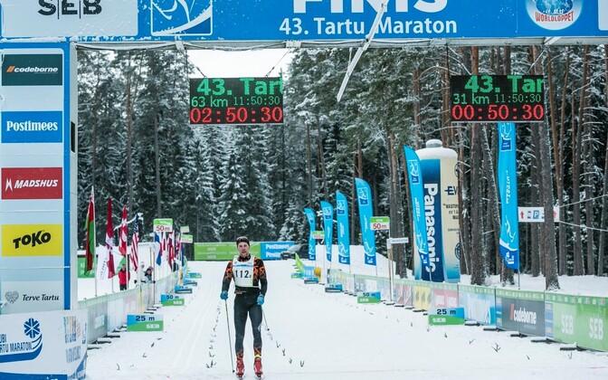 Vahur Teppan tõi SuusaAkadeemia võidukalt 4. Tartu Teatemaratoni finišisse