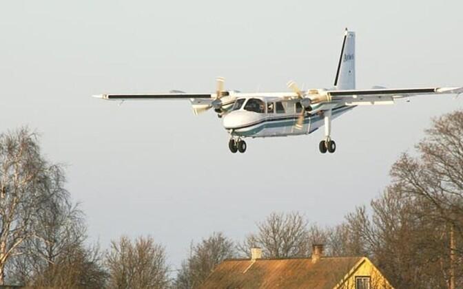 Varem saarte ja mandri vahelisi lende pakkunud Aviesi lennuk.