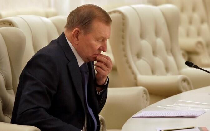 Ukraina ekspresident Leonid Kutšma Minski kohtumisel