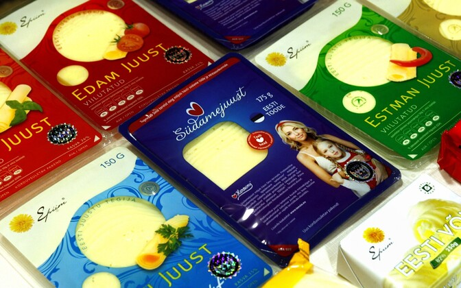E-Piim cheese products.