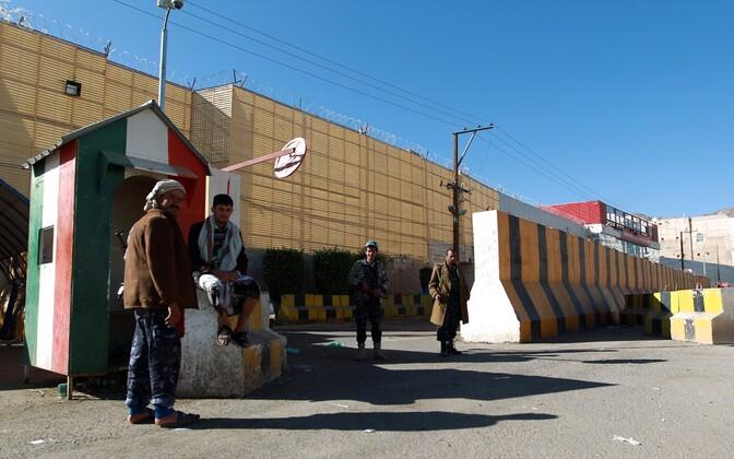 Itaalia saatkonna hoone Sanaas.