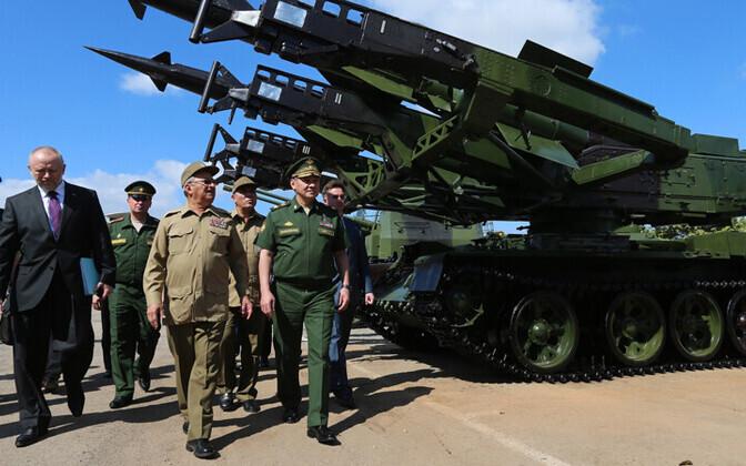 Vene kaitseminister Kuubal