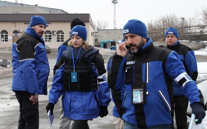 OSCE vaatlejad Ida-Ukrainas