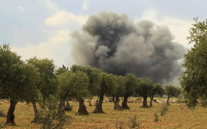 Lahingud Aleppo lähedal.