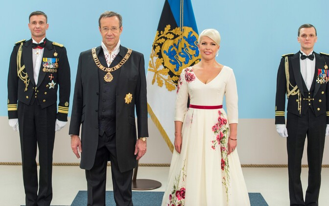President Toomas Hendrik Ilves and Evelin Ilves