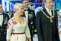 President Ilves and first lady Evelin Ilves arriving at the concert hall