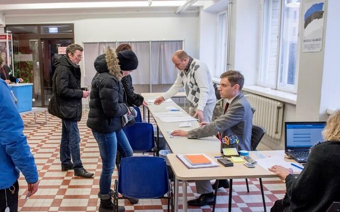 Elections in Estonia.