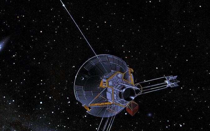 Pioneer 10 kunstniku nägemuses.