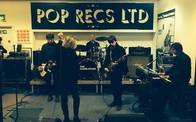 The Charlatans.