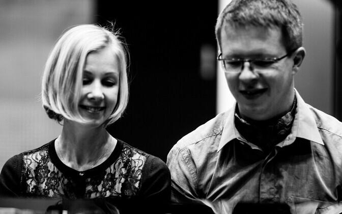 Klaveriduo Ebe Müntel ja Jorma Toots