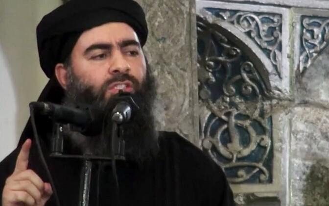 Islamiriigi liider Abu Bakr al-Baghdadi.