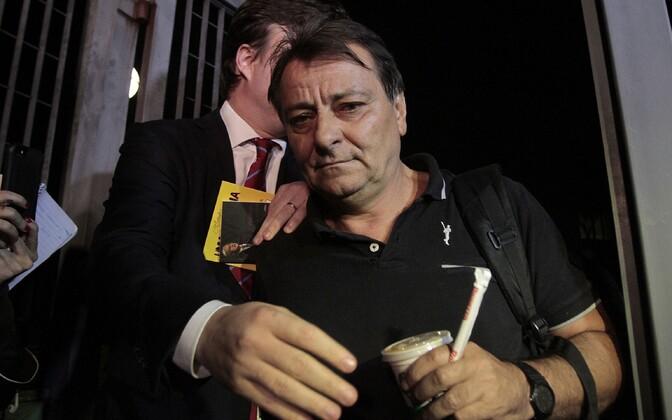 Cesare Battisti politseijaoskonnas
